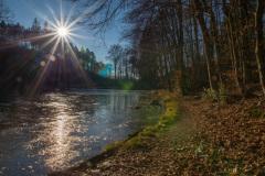 Naturschutzgebiet Hardt, Kadettenweiher