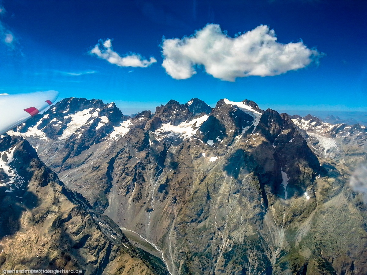 Masiv des Ecrins, Mt Pelvoux
