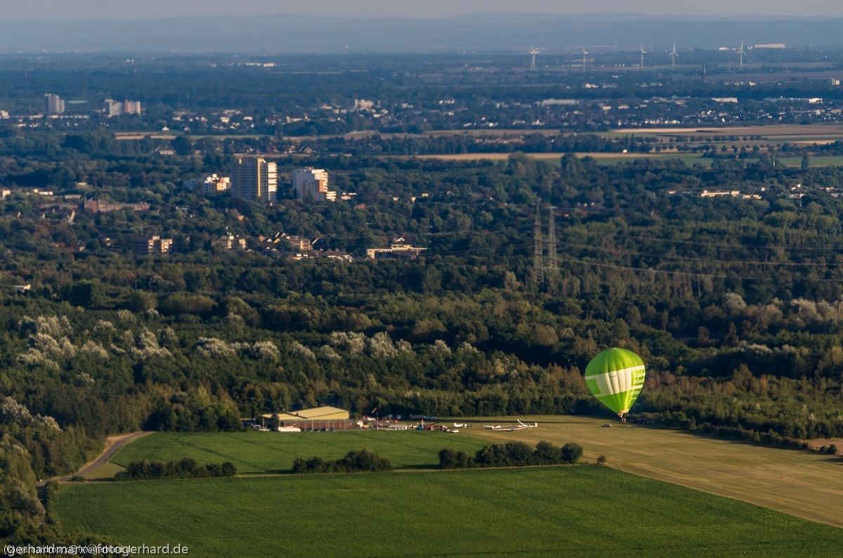 Ballon in Bergheim