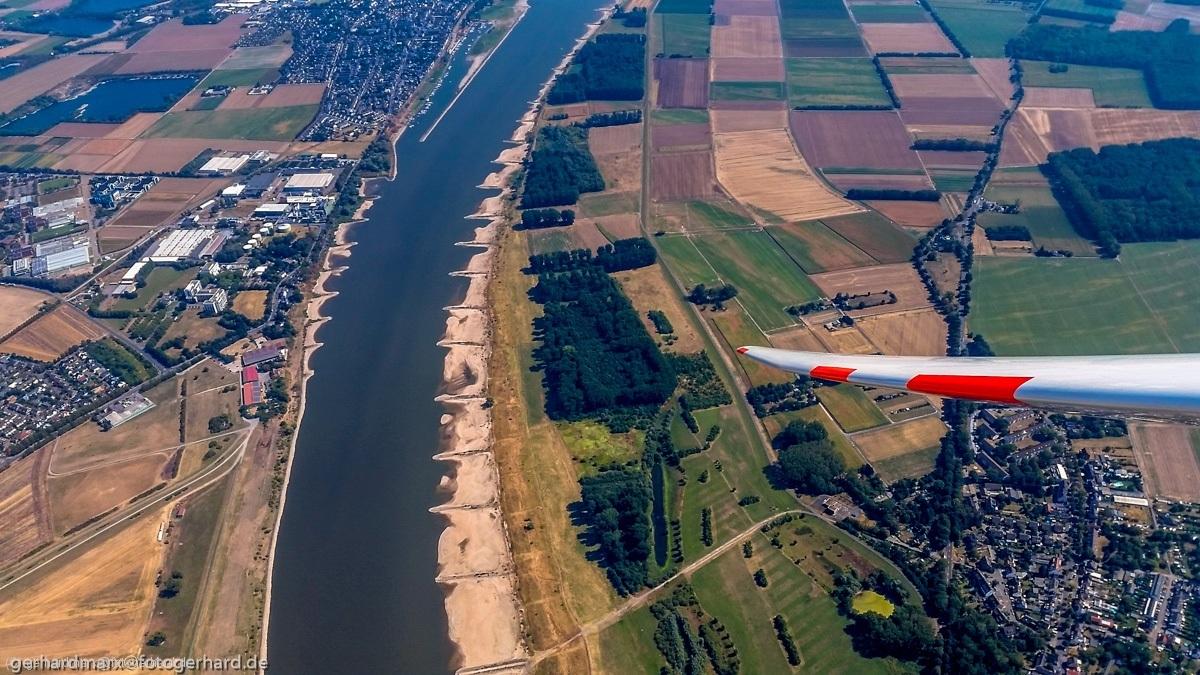 Rhein bei Dormagen