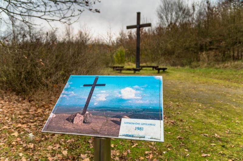 Sophienhöhe Gipfelkreuz